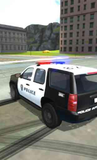 Police Car Drift Simulator 1