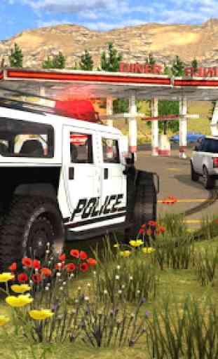 Police Drift Car Driving Simulator 1