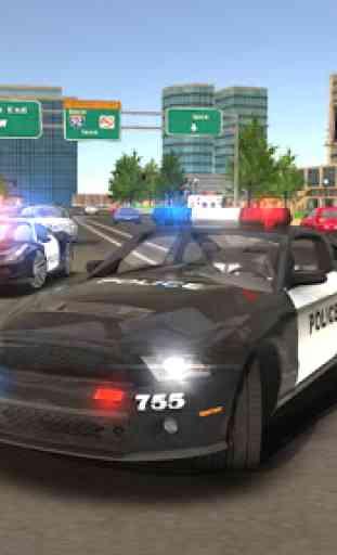 Police Drift Car Driving Simulator 2