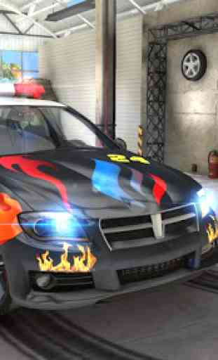 Police Drift Car Driving Simulator 3