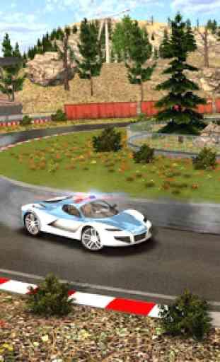 Police Drift Car Driving Simulator 4