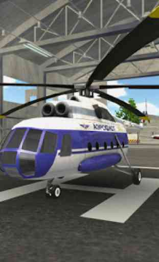 Police Helicopter Flying Simulator 1