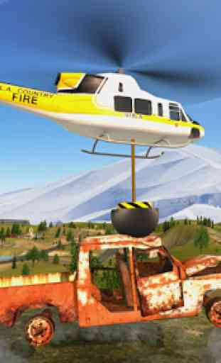 Police Helicopter Flying Simulator 2