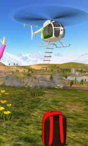 Police Helicopter Flying Simulator 3