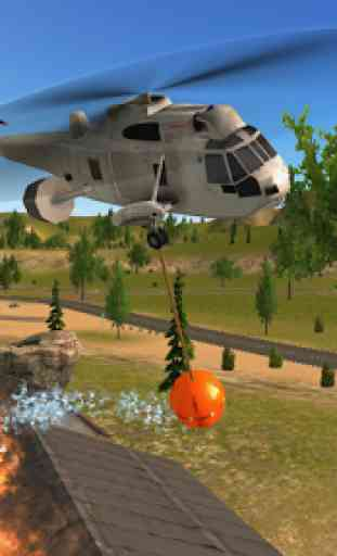 Police Helicopter Flying Simulator 4
