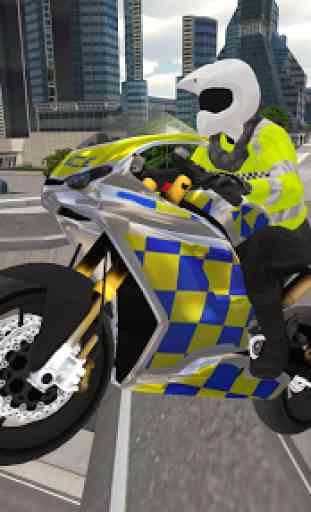 Police Motorbike Simulator 3D 1