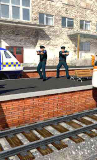 Police Train Simulator 3D: Prison Transport 2