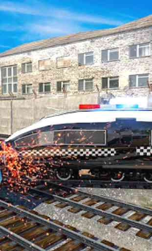 Police Train Simulator 3D: Prison Transport 3