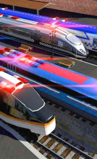 Police Train Simulator 3D: Prison Transport 4