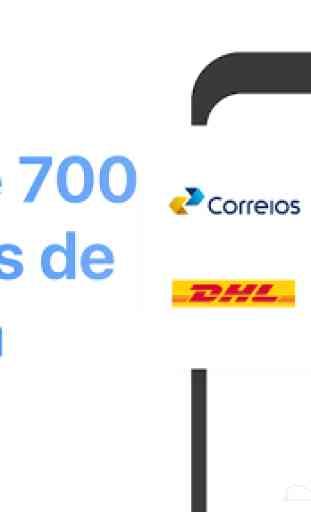 Rastreador de encomendas - Correios, EMS, DHL, ... 2