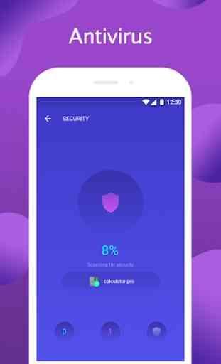 Security Protector - clean Virus, mobile antivirus 1