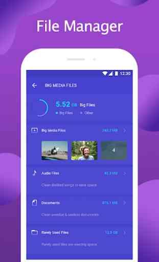 Security Protector - clean Virus, mobile antivirus 4