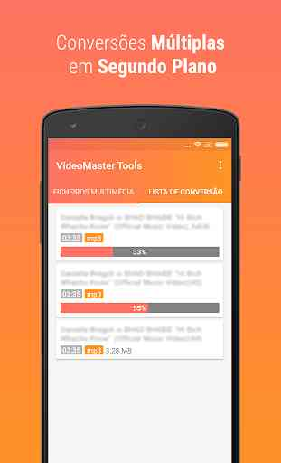 VideoMaster Tools - conversor de mp4 para mp3 1