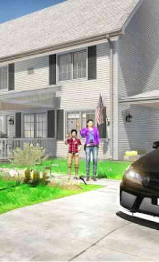 Virtual Police Dad Simulator : Happy Family Games 3
