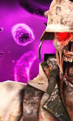 Zombie Gun Strike: Off-line Zombie War 3D gratuito 1
