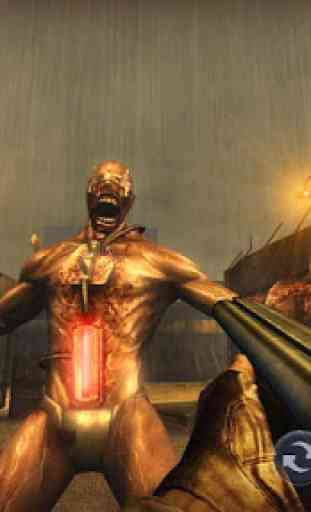 Zombie Gun Strike: Off-line Zombie War 3D gratuito 2