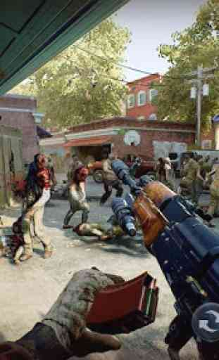 Zombie Gun Strike: Off-line Zombie War 3D gratuito 3