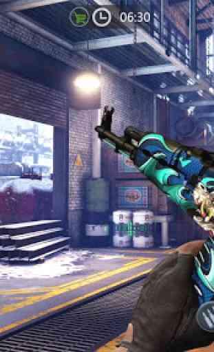 Zombie Gun Strike: Off-line Zombie War 3D gratuito 4