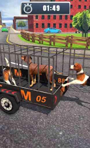 ATV Bicicleta Cão Transportador Carrinho Dirigindo 1