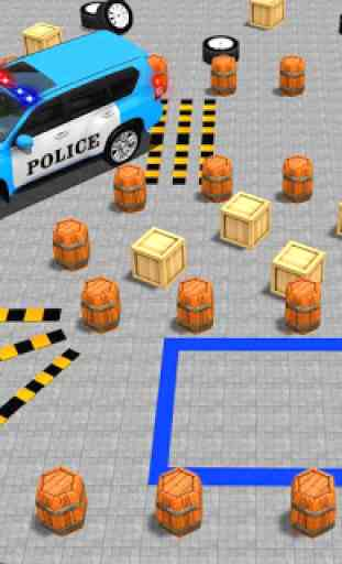 avançar polícia jipe cidade estacionamento aventur 1