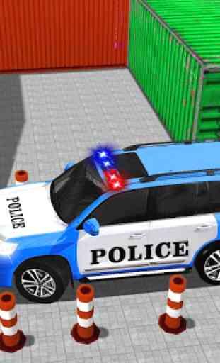avançar polícia jipe cidade estacionamento aventur 2