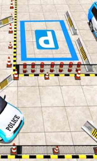 avançar polícia jipe cidade estacionamento aventur 3