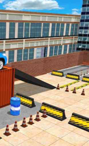 avançar polícia jipe cidade estacionamento aventur 4