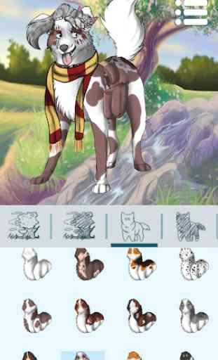 Criador de Avatar: Cães 1