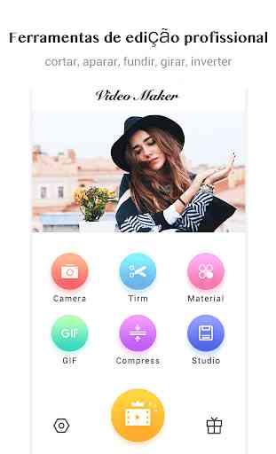 Editor de Vídeo / Vídeo Maker, fotos, música,corte 1