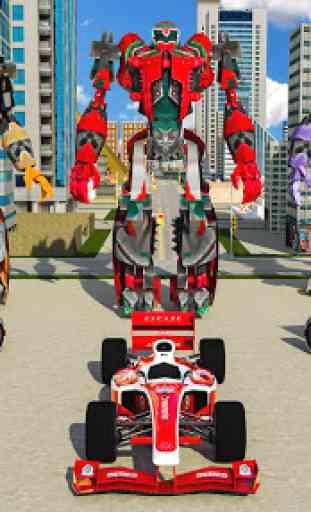 Fórmula Carro Robô Cidade Batalha 2019 1