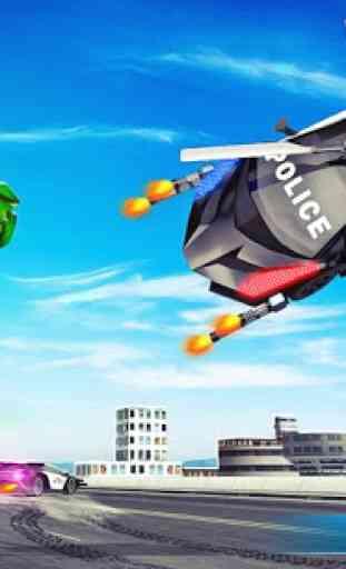 helicóptero da polícia voadora Fabricante d carros 2