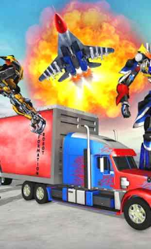 Indian Police Robot Transform Truck 1