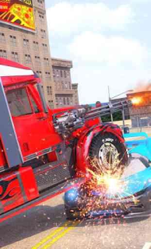 Indian Police Robot Transform Truck 3