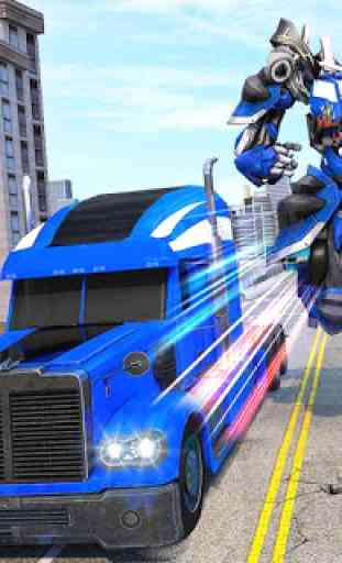 Indian Police Robot Transform Truck 4