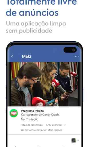 Maki: Facebook e Messenger em um único aplicativo 2