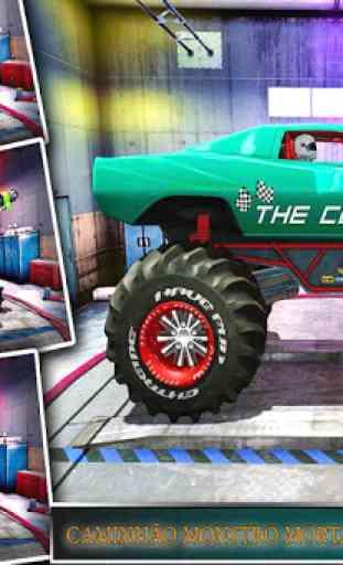 Monster Truck Racing Jogos: Transform Robot games 3