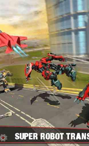 Multi Robot Transform Battle: Jogos de jato de ar 1
