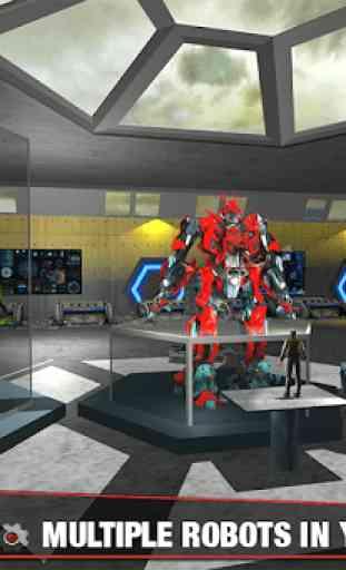 Multi Robot Transform Battle: Jogos de jato de ar 3