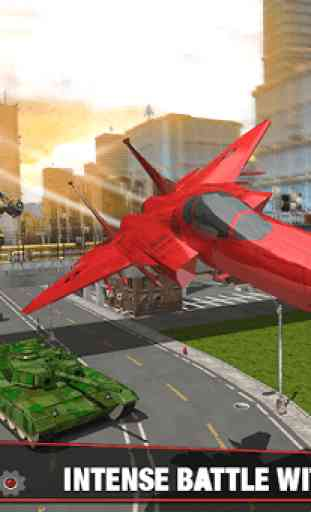 Multi Robot Transform Battle: Jogos de jato de ar 4