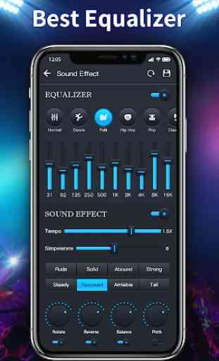 Music Player - 10 Bandas Equalizador Audio player 2