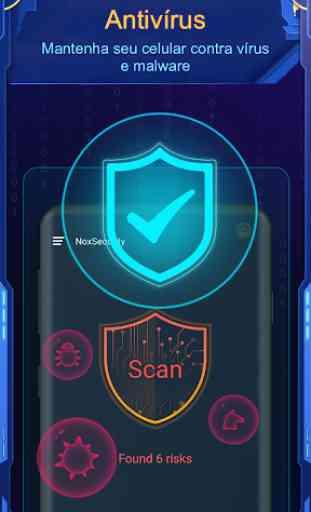 Nox Security - Antivírus Master, Vírus Limpo 2