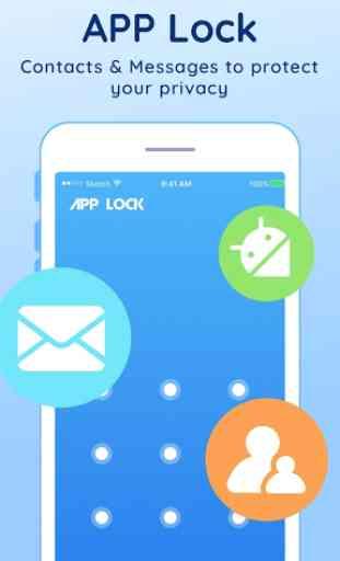 Proteção de privacidade(AppLock) 1
