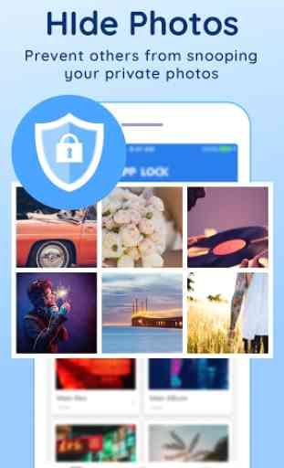 Proteção de privacidade(AppLock) 2