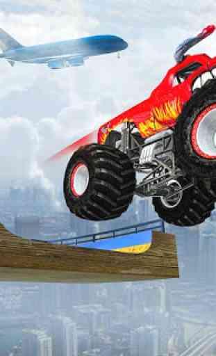Ramp Monster Truck Stunts:New Racing Games 1