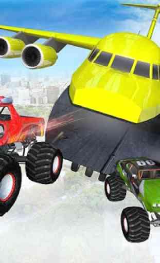 Ramp Monster Truck Stunts:New Racing Games 2