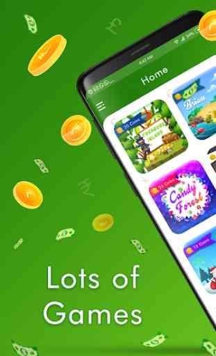Real Cash Games : Ganhe grandes prêmios e recargas 2