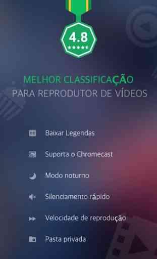 Reprodutor de Vídeo em Todos os Formatos - XPlayer 1
