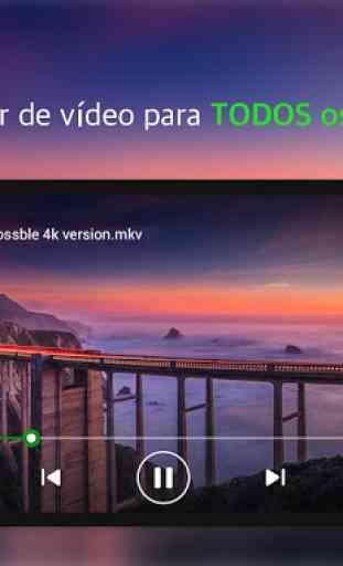 Reprodutor de Vídeo em Todos os Formatos - XPlayer 2