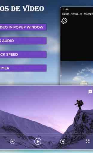 Reprodutor de vídeo-reprodutor de música 2