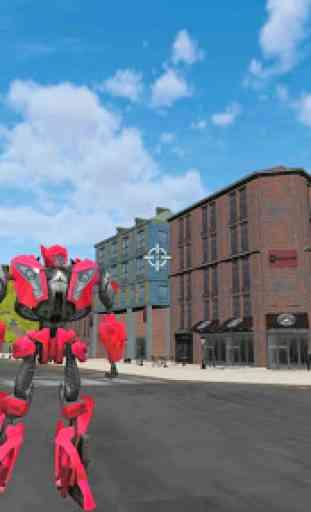 Super Robot Car Transforme Futuristic Supercar 2